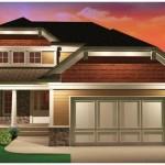 Planos de casa pintoresca con 3 dormitorios grandes